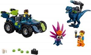 Конструктор LEGO MOVIE 2 Тематичний позашляховик Рекса!