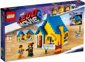 Конструктор LEGO MOVIE 2 Будинок мрії Еммета/ Рятувальна ракета!
