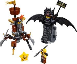 Конструктор LEGO MOVIE 2 Бетмен і Залізна Борода: До бою готові