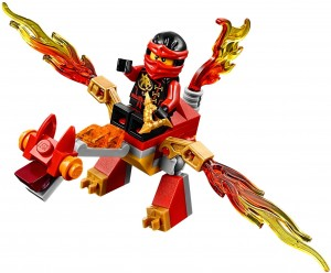 Конструктор LEGO Ninjago Міні дракон Кая
