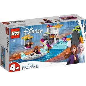 Конструктор LEGO Frozen 2 Експедиція Анни на човні