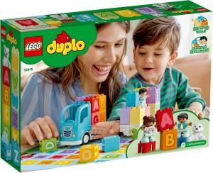Конструктор LEGO DUPLO Вантажівка з буквами