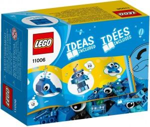 Конструктор LEGO Classic Сині кубики для творчості
