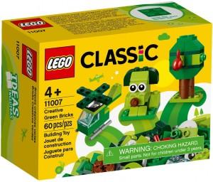 Конструктор LEGO Classic Зелені кубики для творчості