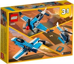 Конструктор LEGO Creator Гвинтовий літак