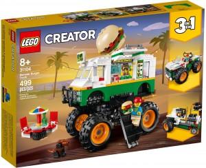 Конструктор LEGO Creator Вантажівка-монстр з гамбургерами