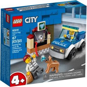 Конструктор LEGO CITY Поліцейській загін із собакою