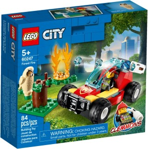Конструктор LEGO CITY Пожежа в лісі