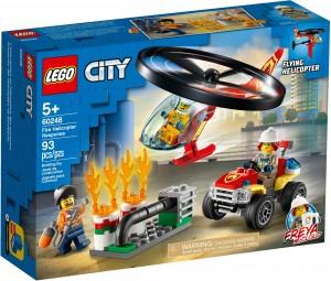 Конструктор LEGO CITY Пожежний загін на вертольоті