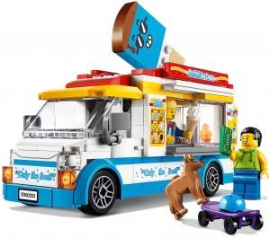Конструктор LEGO CITY Фургон із морозивом