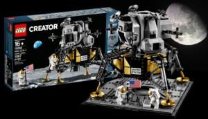 Конструктор LEGO NASA Apollo 11 Місячний десант