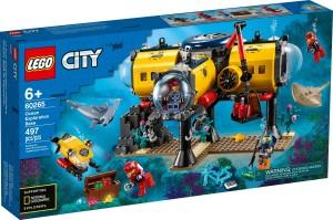 Конструктор LEGO® City Океан: науково-дослідна станція
