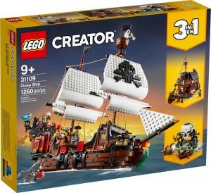 Конструктор LEGO® Creator Піратський корабель
