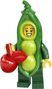 Конструктор LEGO Minifigures Дівчина горох