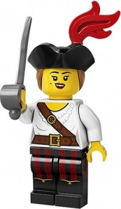 Конструктор LEGO Minifigures Дівчина пірат