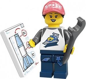 Конструктор LEGO Minifigures Фанат космосу