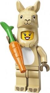 Конструктор LEGO Minifigures Дівчина лама