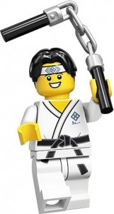 Конструктор LEGO Minifigures Хлопець каратист