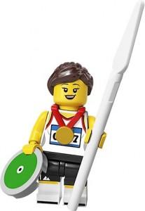 Конструктор LEGO Minifigures Спортсмен