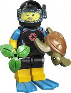 Конструктор LEGO Minifigures Морський рятувальник