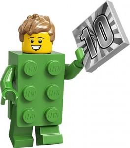 Конструктор LEGO Minifigures Хлопець кубик