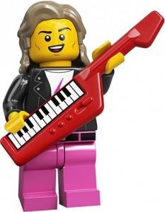 Конструктор LEGO Minifigures Музикант 80х