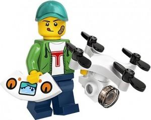 Конструктор LEGO Minifigures Хлопець з дроном