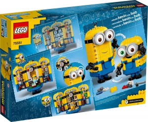 Конструктор LEGO Minions Brick-built Minions and their Lair