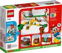 Конструктор LEGO Super Mario Дрифт -заїзд із рослиною-піраньєю.Додатковий рівень