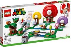 Конструктор LEGO Super Mario Пошук скарбів із Тоадом .Додатковий рівень