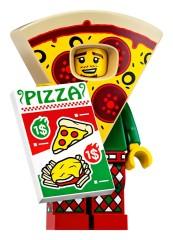 Конструктор LEGO Minifigures  Аніматор в костюмі піци 71025/2