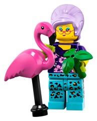 Конструктор LEGO Minifigures Садівниця з фламинго 71025/15