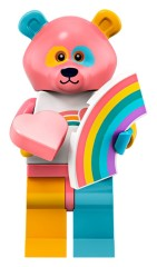 Конструктор LEGO Minifigures Аніматор в костюмі радужного ведмедя