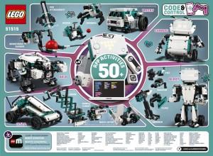 Конструктор LEGO MINDSTORMS® Винахідник роботів