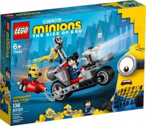 Конструктор LEGO Minions Нестримне переслідування на мотоциклі
