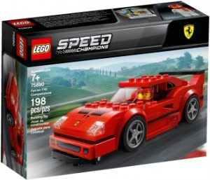 Конструктор LEGO Speed Champions Автомобіль Ferrari F40 Competizione