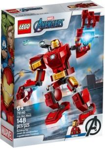 Конструктор LEGO MARVEL Робокостюм Залізної Людини