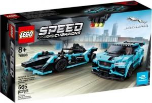 Конструктор LEGO Speed Champions Jaguar Racing GEN2 Car & Jaguar