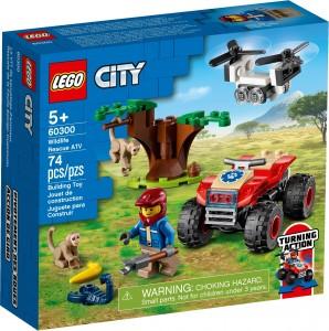 Конструктор LEGO®  City  Квадроцикл для порятунку диких тварин