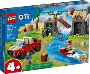 Конструктор LEGO® City Позашляховик для порятунку диких тварин