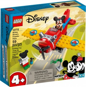 Конструктор LEGO® Mickey and Friends Гвинтовий літак Міккі Мауса
