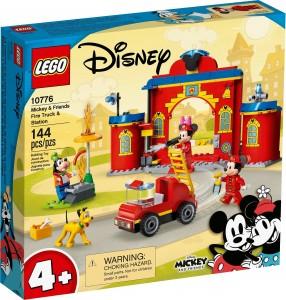 Конструктор LEGO®  Mickey and Friends Пожежне депо й машина Міккі і його друзів