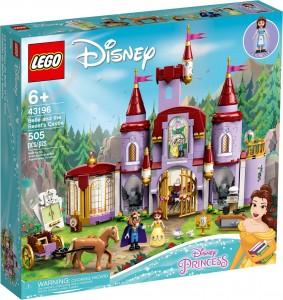 Конструктор LEGO® Disney Princess Замок Белль і Чудовиська