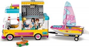 Конструктор LEGO® Friends Лісовий будинок на колесах і яхта