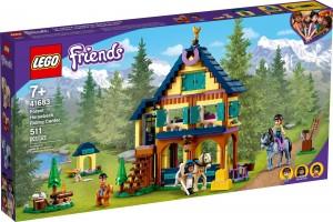 Конструктор LEGO® Friends Лісовий центр верхової їзди