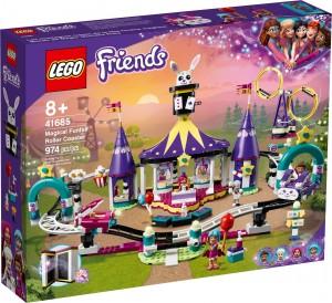 Конструктор LEGO® Friends Магічні американські гірки на ярмарку