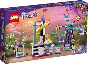 Конструктор LEGO® Friends Магічне колесо огляду та гірка