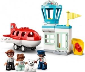Конструктор LEGO® DUPLO Town Літак і аеропорт