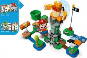 Конструктор LEGO Super Mario Падіння вежі Боса Сумо Бро. Додатковий рівень