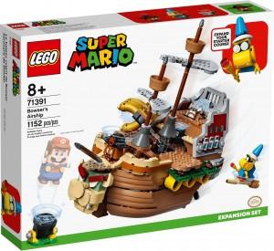 Конструктор LEGO Super Mario Літальний апарат Боузера. Додатковий рівень